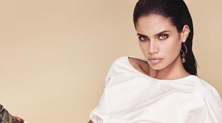 Sara Sampaio arrasa em campanha de marca italiana