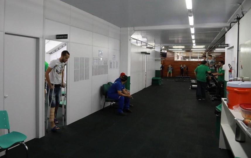 As imagens da apresentação da Chapecoense