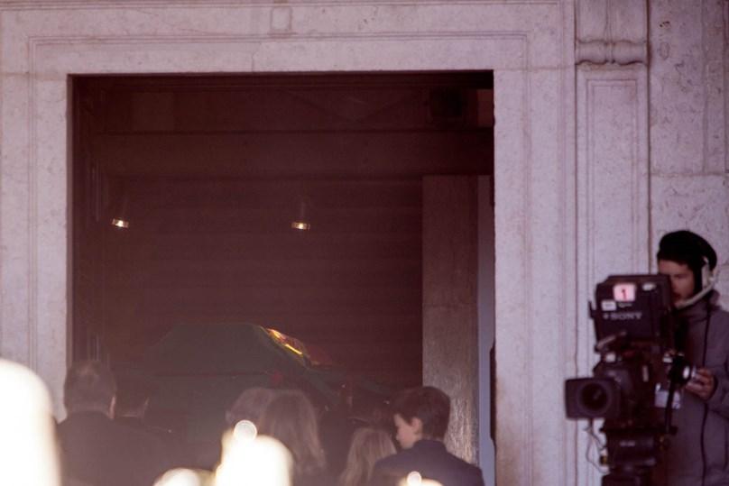 A chegada de Soares aos Jerónimos