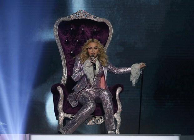 Madonna rendida a Lisboa: