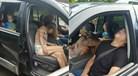 Casal sofre overdose de heroína com criança no banco de trás