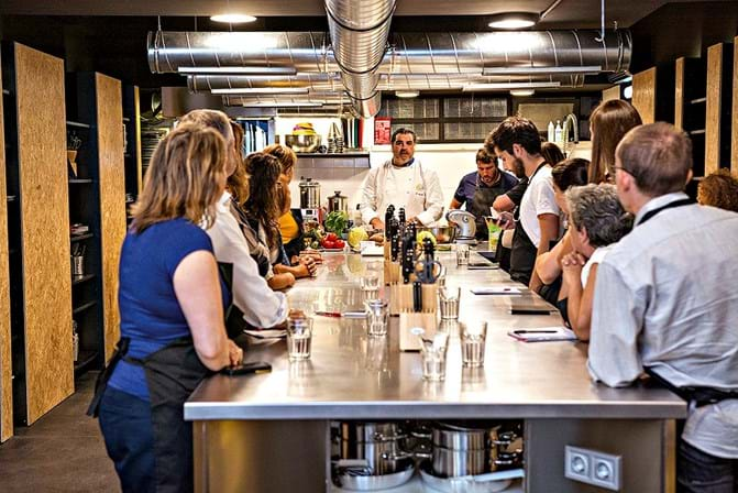 Chef gemelli est de volta com workshops de comida for Restaurantes de comida italiana