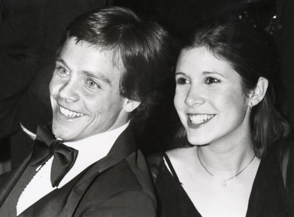 <p><span>Mark Hamill e Carrie Fisher</span></p>