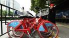 Chineses deitam fora bicicletas alugadas