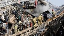 Teerão: Derrocada mata pelo menos 30 bombeiros