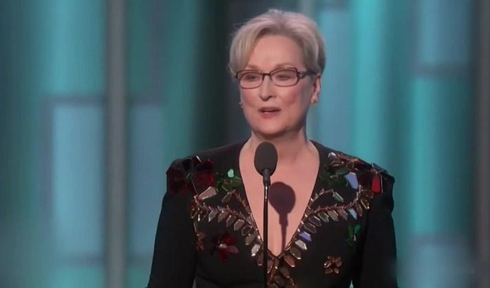 O discurso emocionado de Meryl Streep