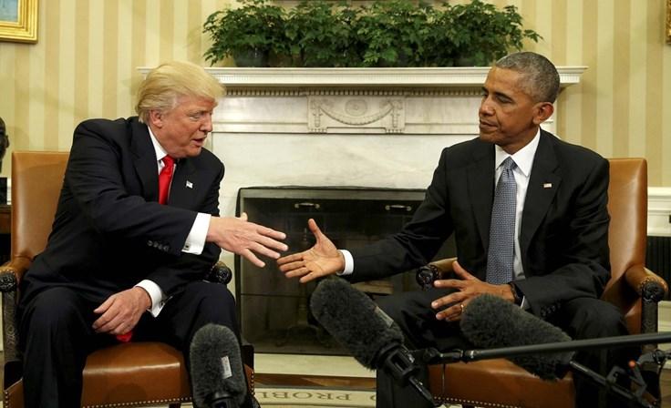 Obama deixa carta a Trump e ressalta a importância da democracia