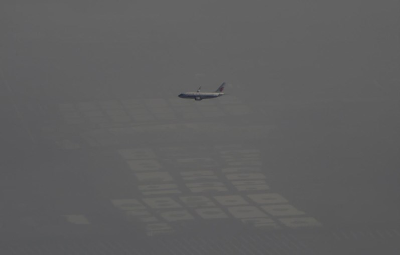 """China, o país """"escondido"""" pelas nuvens da poluição"""