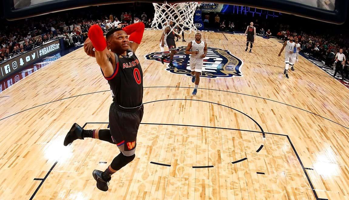 A grande festa da NBA