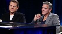 Matt Damon quase chorou ao saber que Clooney ia ser pai