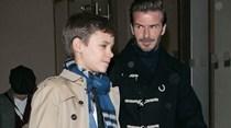 Beckham leva filhos ao desfile de Victoria e desmente crise