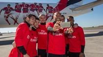 Novo avião da Emirates vai levar o Benfica a mais de 160 destinos
