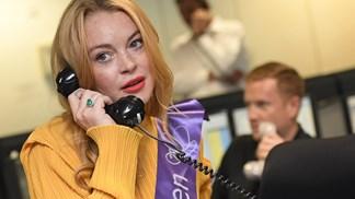 Lindsay Lohan apela a americanos para que apoiem Donald Trump
