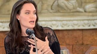 Angelina Jolie sobre o divórcio: