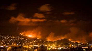Centenas de pessoas evacuadas em incêndio na Nova Zelândia