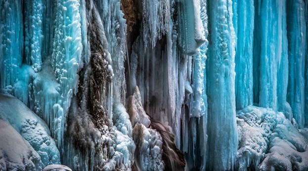 Croácia: As cascatas congeladas dos Lagos Plitvice