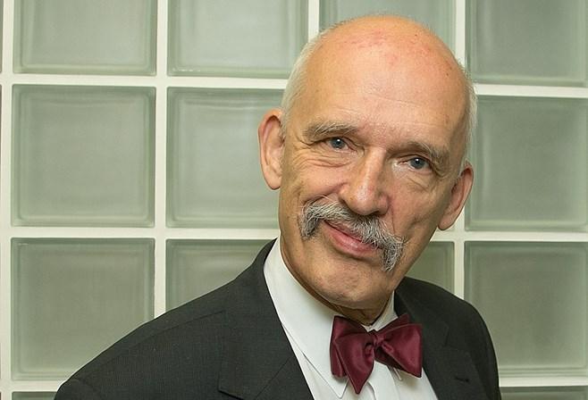 Janusz Korwin-Mikke tem um longo historial de polémicas, incluindo saudações nazis e declarações xenófobas