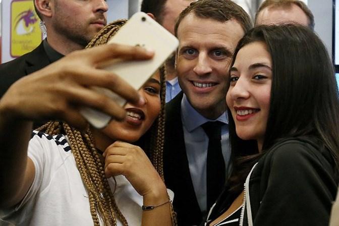 """Emmanuel Macron, o candidato mais convincente do debate eleitoral na França"""""""