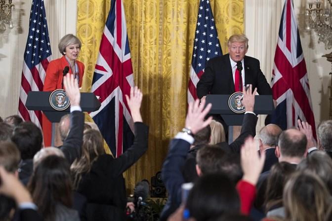 Reino Unido garante que convite a Trump mantém-se