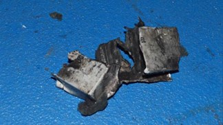 Divulgadas imagens da bomba e do detonador