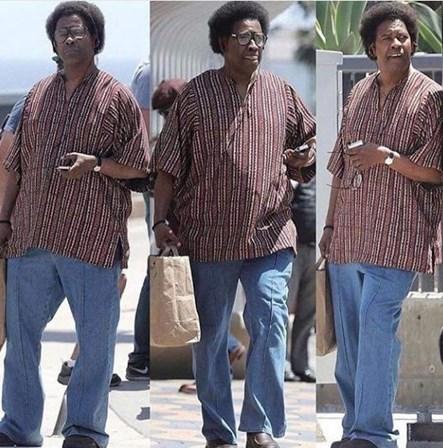 O novo visual de Denzel Washington