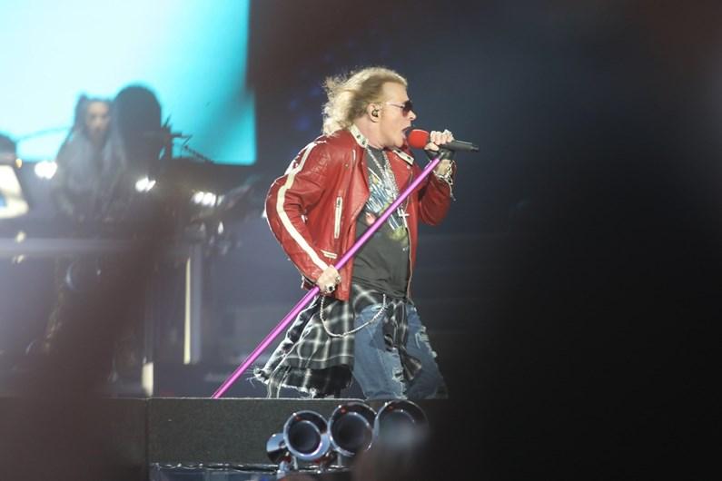As Imagens Dos Guns N' Roses Em Portugal