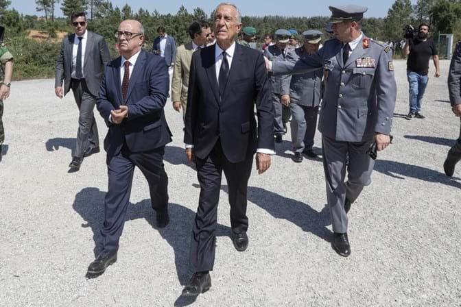 Marcelo exonera general que se demitiu do Exército