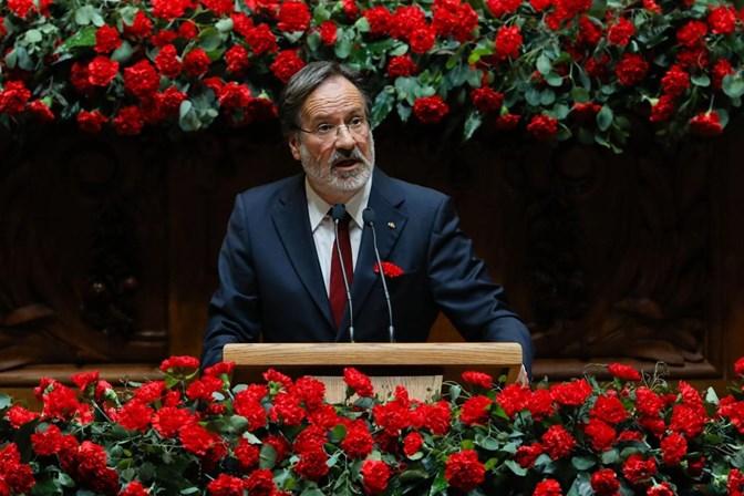 A despedida de um histórico da Assembleia da República