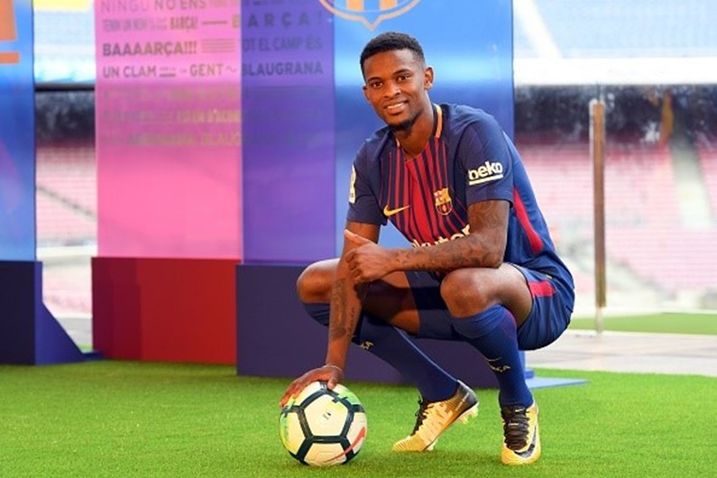"""Resultado de imagem para Nélson Semedo: """"Uma honra vestir a camisola do Barcelona"""""""