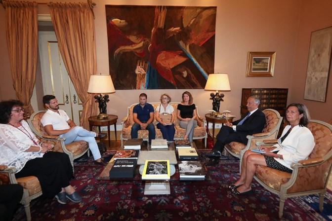 Política: Presidente da República recebe famílias das vítimas de Pedrógão