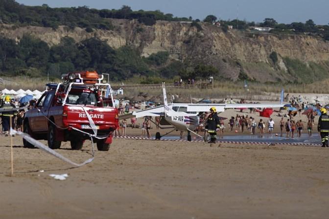 Tripulantes de aeronave acidentada com termo de identidade e residência