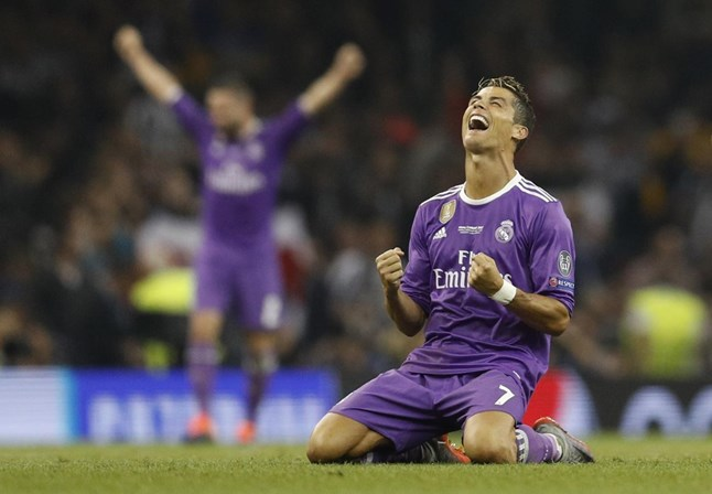 A nova máquina de Cristiano Ronaldo já