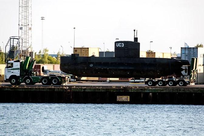 Jornalista desaparecida morreu num submarino durante uma entrevista com inventor