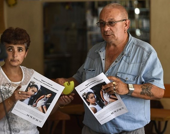 Menina desaparecida em França. Polícia deteve um homem