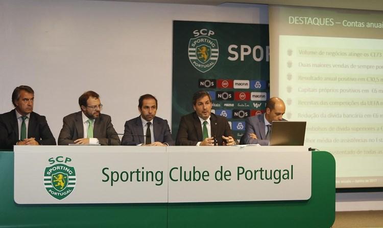Sporting SAD apresenta lucro superior a 30 milhões em 2016/17