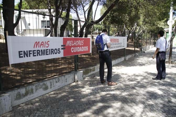 Adesão à greve dos enfermeiros subiu para os 85%, diz sindicato