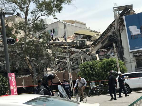 Sismo de magnitude 6.1 registado no sul do México