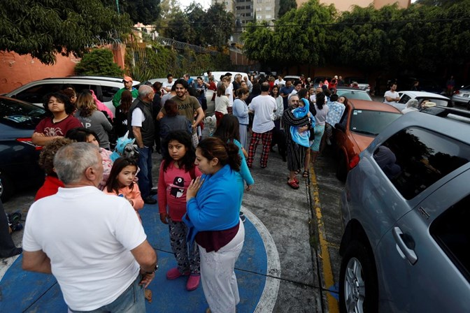 Novo sismo registado em Tonala, México