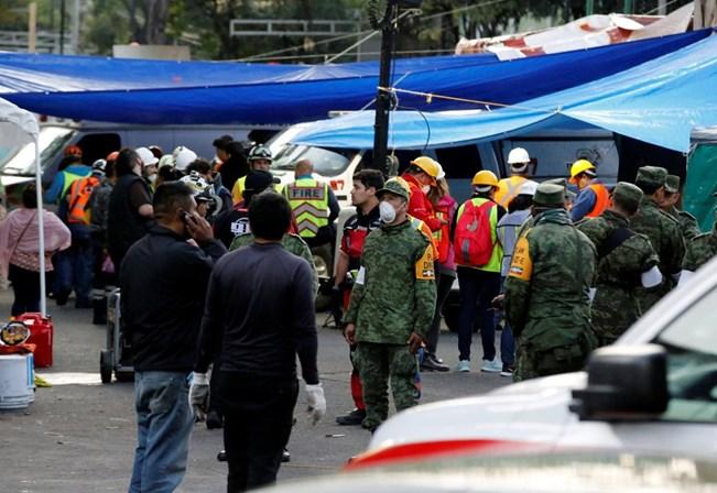 Três mortos em novo sismo no México