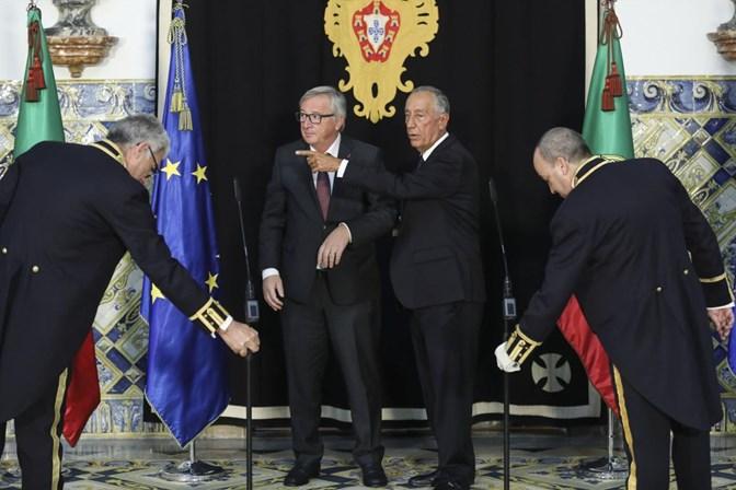 Juncker distinguido com grau Doutor Honoris Causa pela Universidade de Coimbra