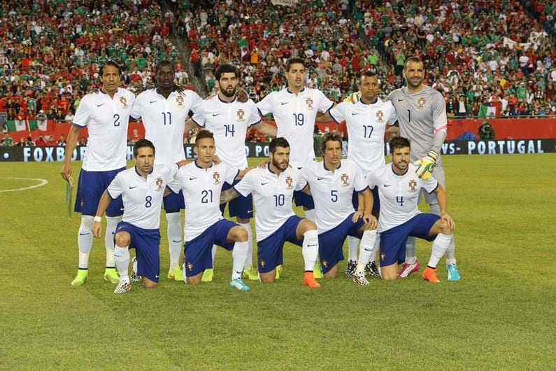 seleção portugal 2017