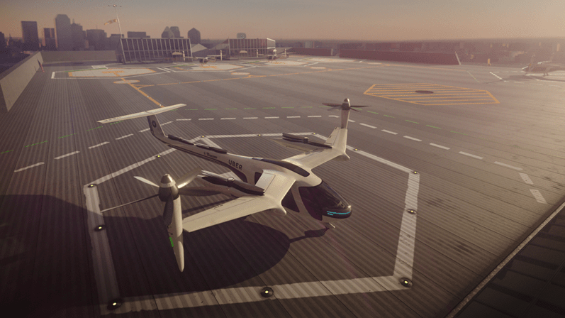Uber faz parceria com a NASA para disponibilizar veículos voadores