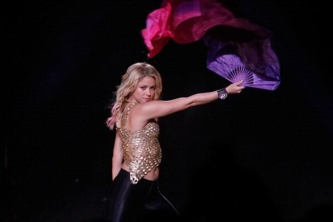 Shakira cancela concerto em Portugal
