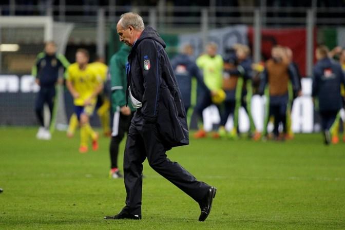 Após não classificar a Itália para a Copa, treinador é demitido