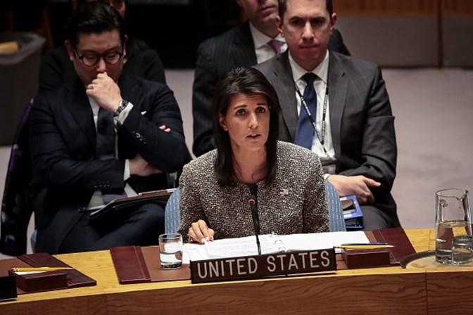 Nikki Haley embaixadora dos EUA