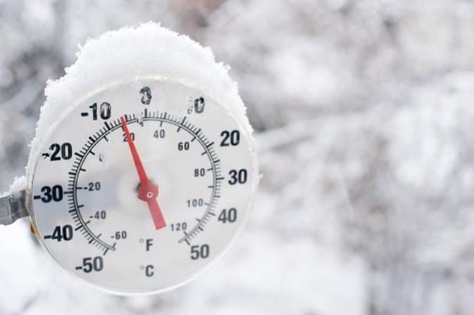 Frio deixa nove distritos em alerta amarelo