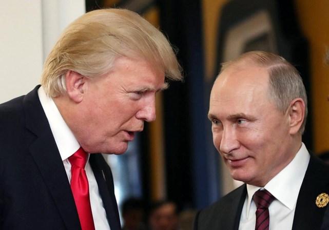 Donald Trump e Vladimir Putin discutem Coreia do Norte ao telefone
