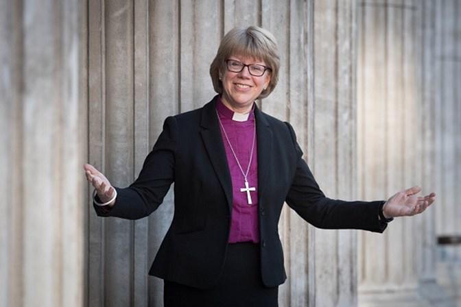 Nomeada primeira mulher bispo de Londres