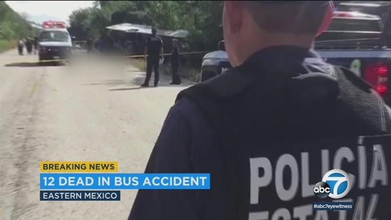 Despiste de autocarro provoca 12 mortos e 20 feridos