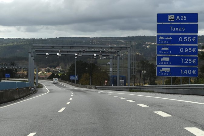Preço das portagens vai aumentar em 37% da rede de auto-estradas